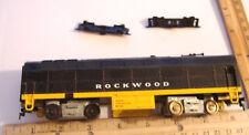 ~BUILT B UNIT~ROCKWOOD RAILROAD~HO~1961~UNTESTED~