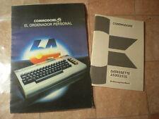 Manual instrucciones Commodore 64 1530 1531 en español aleman instruction manual