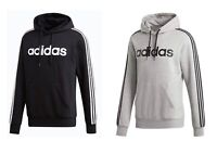Men Adidas Essential 3 Stripes Pullover Hoodie