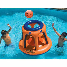 Swimline Float Basketball Hoop Giant Shootball Inflatable Swimming Pool Game Toy