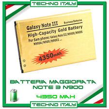Batteria Gold Maggiorata 4350 mAh SAMSUNG GALAXY NOTE 3 N9000 - NO DOGANA