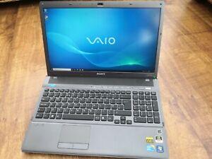 "Sony VAIO VPCF12S1E 16.4"" Laptop, Windows 10, 6Gb RAM, 500Gb HDD, i7 CPU"