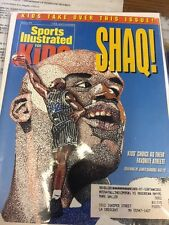March 1995 Shaquille O' Neal Orlando Magic Sports Illustrated For Kids
