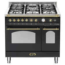 LOFRA Black  90cm Gas / Electric Upright Cooktop Oven Freestanding Cooker