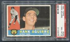 1960 Topps #546 Hank Aguirre (Tigers)  PSA 8  (Flat Rate Ship)