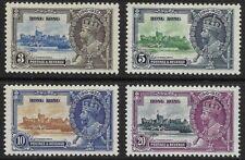 Hong Kong - SG 133-136 - 1935 - Silver Jubilee Set of 4 - Mounted Mint