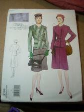 VINTAGE VOGUE 2199 Sewing Pattern Skirt Jacket 1946 Design Sz 14 NEW UNCUT!