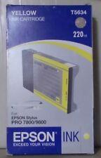 Original Epson T5634 Tinte  yellow  für Stylus Pro  7800  9800 OVP