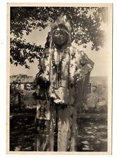 Vintage photo CHIEF SPOTTED CROW Oglala Sioux 1946 Pine Ridge SD Dakota Indian