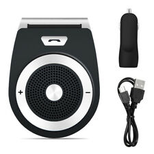 Bluetooth Car Kit Wireless Handsfree Speaker Phone Visor For iPhone Samsung Htc