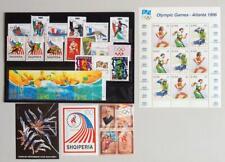EUROPE 1996 OLYMPICS, XF MNH** Sets+Sheets, Ireland Albania Macedonia Slovenia+