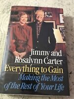 3 Signed Jimmy Carter - Everything To Gain - Living Faith - Nobel Peace Prize