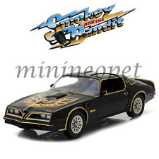 GREENLIGHT 19025 SMOKEY AND THE BANDIT 1977 PONTIAC FIREBIRD TRANS AM 1/18 BLACK