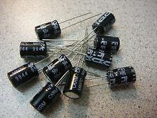 ILLINOIS CAP Radial Aluminum Electrolytic Capacitor 68uF 50V 20% **NEW** 10/PKG