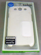 Belkin SnapShield Case Cover for Samsung Galaxy S3 III White