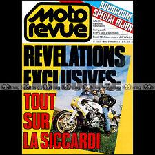MOTO REVUE N°2527 SICCARDI ACS BMW R100 RT KAWASAKI KX 125 JEFF WARD BFG 1300 81
