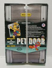 "US Pet Products Small Pet Door Insulated USA Made Flap Opening 5""x7"""