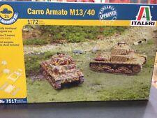 KIT MAQUETA (2 UNIDADES) CARRO ARMATO M13/40 1:72 ITALERI 7517