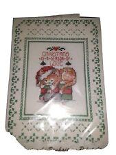 Design works Craft Cross Stitch Christmas Card Kit