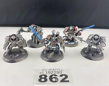 5 x Warhammer 40K Grey Knight Terminators Plastic