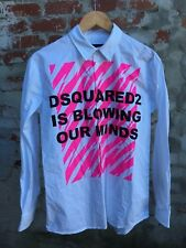 "Men's Vintage Dsquared2 ""Blowing Our Minds"" Shirt - Size M"
