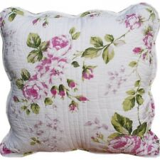 Shabby Chic Cushion Throw Pillow Cover Crisp White Background