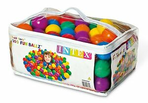 Balls Of Colours For Pools And Centres Of Set 100 Balls Kids Toy