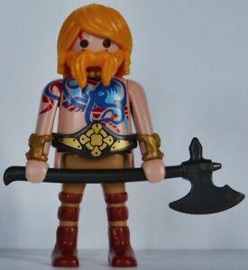 Playmobil romain - gaulois - celte - germain - barbare - guerrier #20 - custom