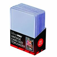 """(Pack of 25) Ultra-Pro Vintage Topload Trading Card Holders 2-3/4"""" x 3-15/16"""""""