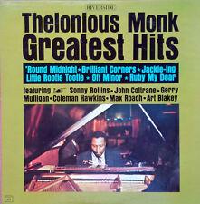 THELONIOUS MONK - GREATEST HITS - RIVERSIDE RLP 421 - MONO LP - BLUE LABEL,REELS