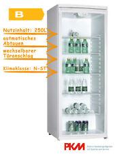 PKM GKS255 Flaschenkühlschrank Kiosk Kühlschrank Glastür Getränkekühlschrank Bar