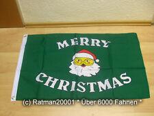 Banderas bandera Merry Christmas cruzadas - 60 x 90 cm