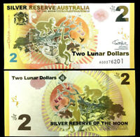 Authentic Australia Paper Money $2 Bill Brand New 2016 Jan 1 Issued - One Bill