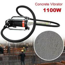 16000Rpm Electric Concrete Vibrator 4.5M Poker to Remove Air Bubbles Level 1.1Kw
