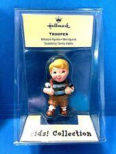"Hallmark ""Trooper"" Merry Miniatures Kids Collection Figurine Ornament 2000"