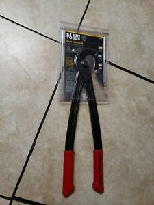 Klein Tools Utility Cable Cutter 16-3/4 in. H Fixed Joint Non-Slip Vinyl Grips