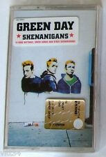 GREEN DAY - SHENANIGANS - Musicassetta Cassette Tape MC K7 - Sealed