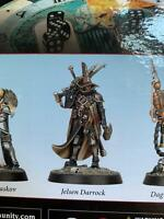 Warhammer Quest Cursed City Heroes Witch Hunter Free People Jelsen Darrock