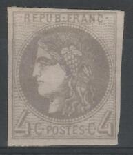"""FRANCE STAMP TIMBRE N° 41 Bb """" CERES BORDEAUX 4c GRIS LILAS """" NEUF x TB  M900"""