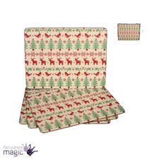 Decoración y menaje color principal rojo Navidad para mesas de fiesta, Navidad