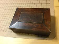 vintage original - old dresser box - 1800's