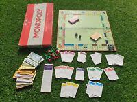 Vintage Waddingtons Original Monopoly board game 1970