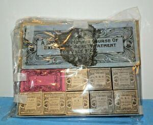 Quack Medicine Boxes in Original Container-2 Mo Course of Medical Treatment-C.H