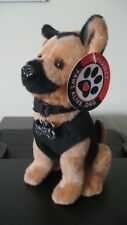K9 Stuffed Dog Police Fire Military Canine Puppy Plush Dolls Toy Animal Doll Lab