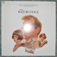 The Razor's Edge - Orig Motion Picture Soundtrack Vinyl LP Jack Nitzsche 1984