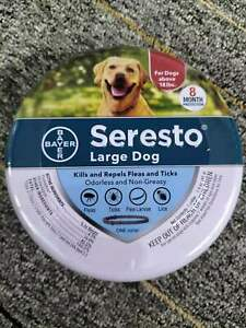 Bayer Seresto Flea and Tick Collar for Large Dog for 8 Month Prevention