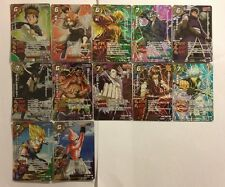 Miracle Battle Carddass J-Heroes J2 Utra Rare Set AS02 12/12