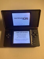 Nintendo DS Lite Black Missing Stylus and Charger Fully Functional Nintendogs