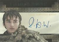 "Game of Thrones Valyrian Steel: Isaac Hempstead-Wright ""Bran"" Autograph Card"
