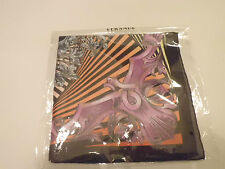 Authentic Versace Silk scarf Baroque Medusa 40 x 40